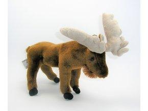 Plyšový los 28 cm - plyšové hračky