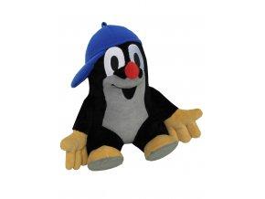 Plyšový Krteček 30cm, s modrou kšiltovkou - plyšové hračky