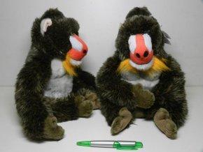Plyšová opice Mandril 40cm - plyšové hračky