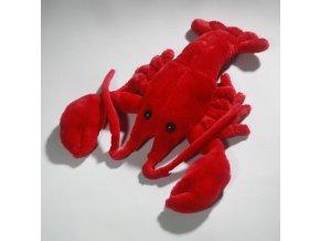 Plyšový humr 33 cm - plyšové hračky