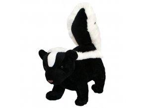 Plyšový skunk 20 cm - plyšové hračky