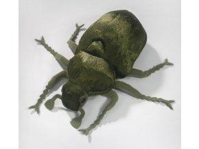 Plyšový brouk zelený 25 cm - plyšové hračky
