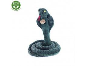 Plyšový had kobra 178 cm - plyšové hračky
