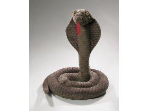 Plyšový had kobra 40 cm - plyšové hračky