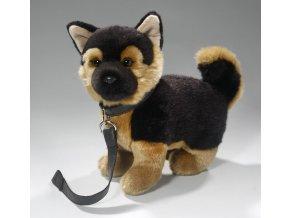 Plyšový německý ovčák 25 cm - plyšové hračky