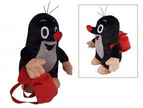 Plyšový Krteček 20cm, s batůžkem - plyšové hračky
