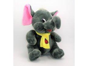 Plyšový slon 26 cm - plyšové hračky