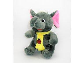 Plyšový slon 21 cm - plyšové hračky