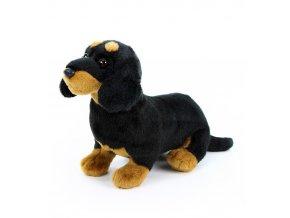 Plyšový jezevčík 27 cm - plyšové hračky