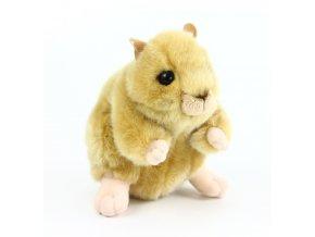 Plyšový křeček 16 cm - plyšové hračky