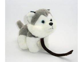 Plyšový husky 12 cm - plyšové hračky