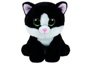 Beanie Babies AVA 15 cm - černá kočka
