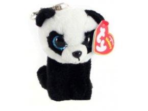 Beanie Boos BABOO klíčenka 8,5 cm - panda