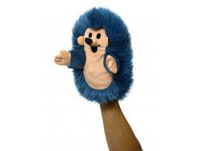 Plyšový Ježek 23cm, modrý maňásek - plyšové hračky