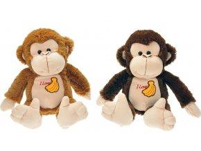Plyšová opice 26cm - plyšové hračky