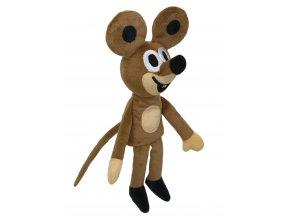 Plyšová Myška 23cm, maňásek - plyšové hračky