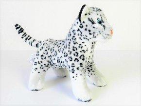 Plyšový leopard sněžný 20 cm - plyšové hračky