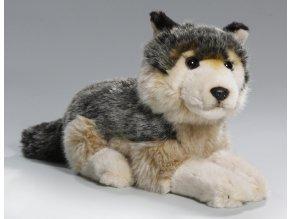 Plyšový vlk 24 cm - plyšové hračky