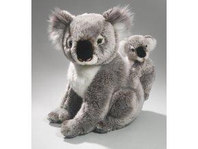 Plyšová koala s mládětem 38 cm - plyšové hračky