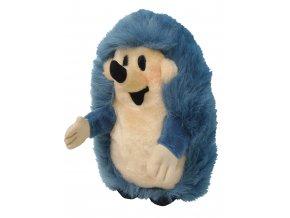 Plyšový Ježek 27cm, modrý maňásek - plyšové hračky