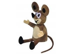 Plyšová Myška 40cm, maňásek - plyšové hračky