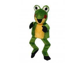 Plyšová Žabka 37cm, maňásek - plyšové hračky