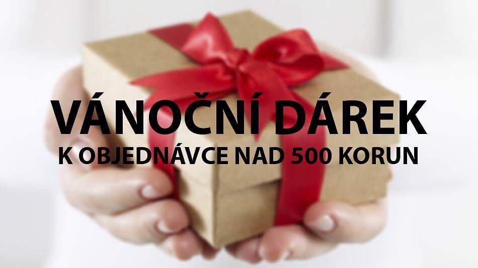 VÁNOČNÍ VÝPRODEJ a DÁREK ke každé objednávce nad 500 korun!