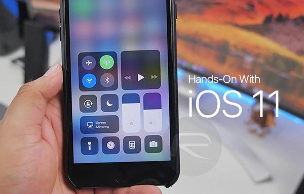 Tip - Využívejte ovládací centrum v iOS 11 naplno!