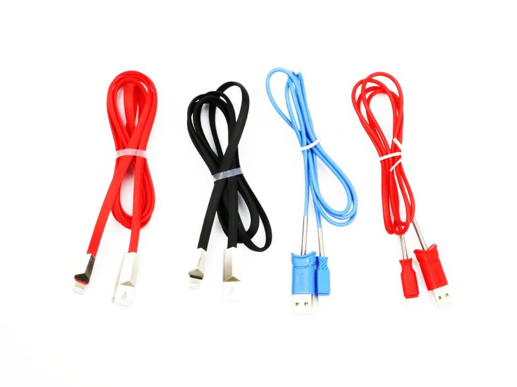 Nabíjecí lightning kabely na iPhone od firmy Hoco!