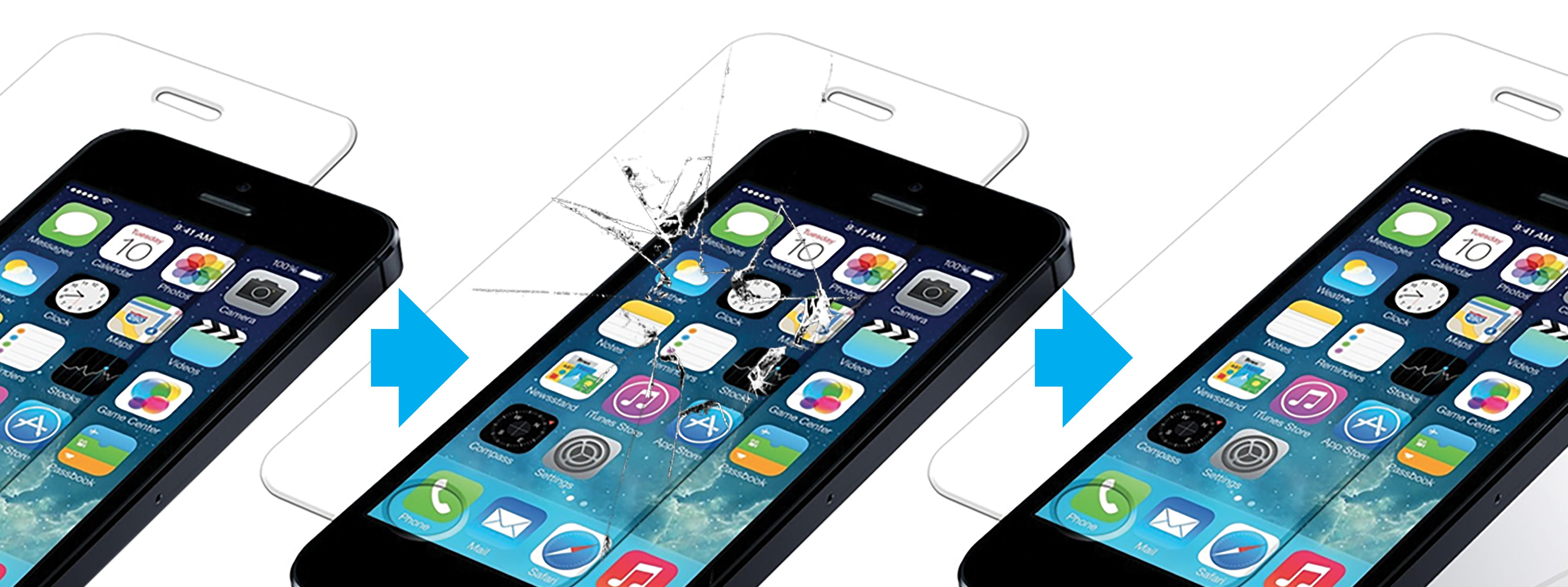 Tip na produkt v akci - Tvrzené sklo pro iPhone s doživotní zárukou!