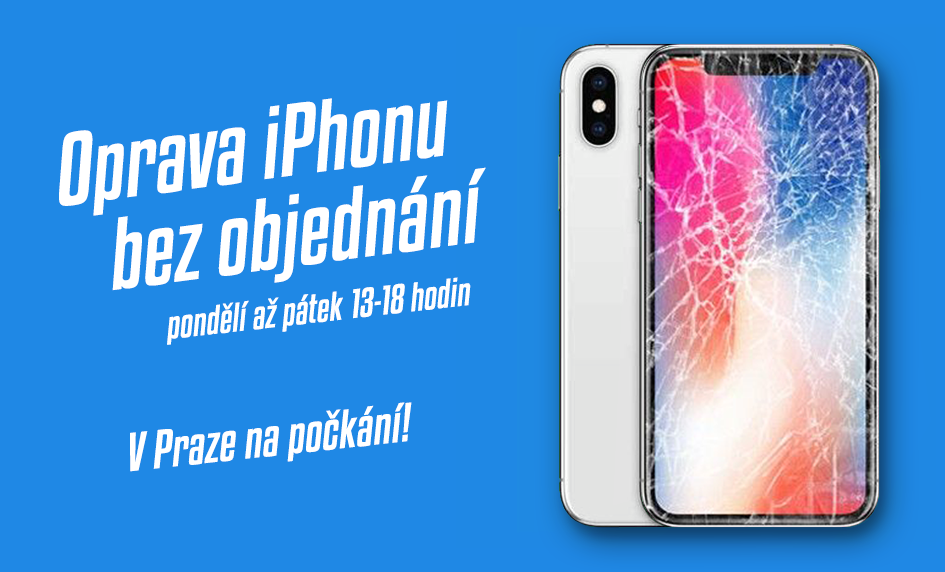 Opravy Apple iPhone Praha