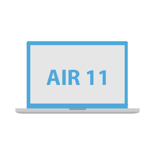 Kvalitní ochranné kryt na Apple Macbook Air 11''