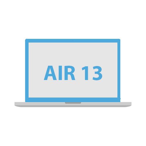 Kvalitní ochranné kryt na Apple Macbook Air 13''