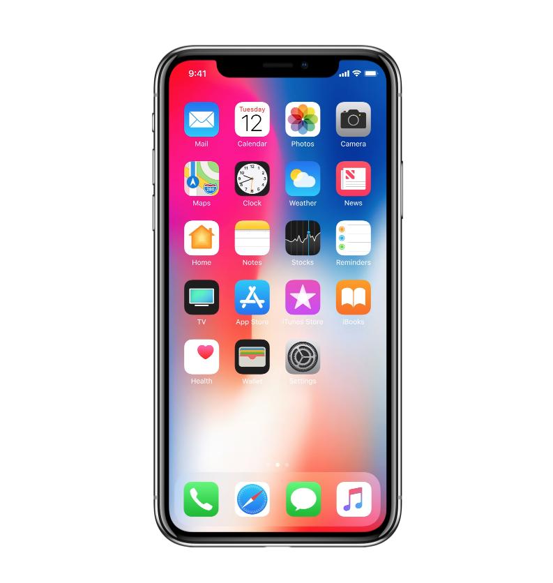 Tvrzené sklo pro iPhone X