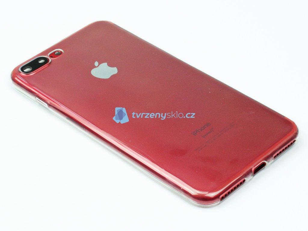 Průhledný Gumový obal pro iPhone 7, iPhone 8 Plus Tenký