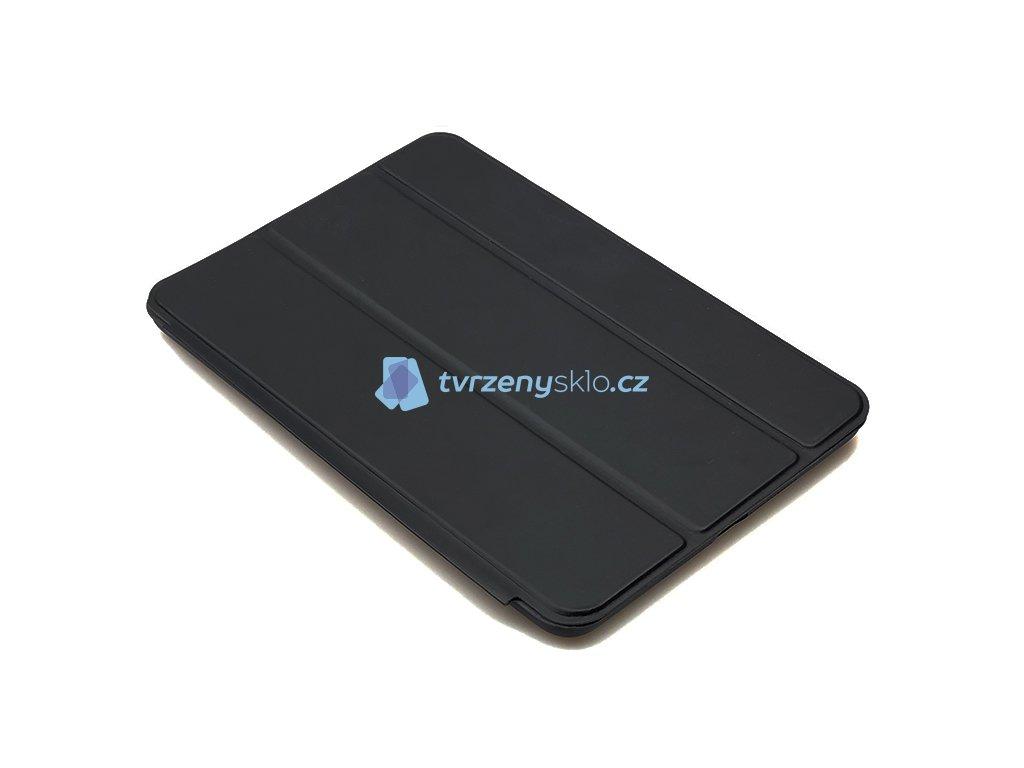 Zavírací obal na přední i zadní část z TPU kůže pro iPad Mini 1,2,3 Černý