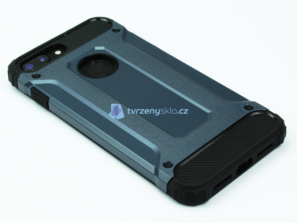 Vysoce odolný kryt pro iPhone 7 Plus, iPhone 8 Plus Modrý