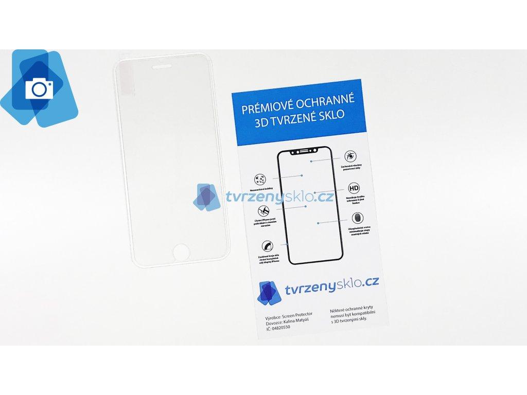 PREMIUM 3D Tvrzené sklo iPhone 6,6s,7,8 Silikonové