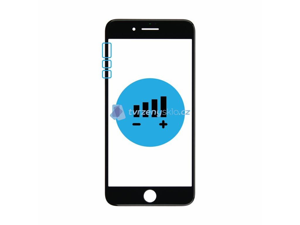 Výměna tlačítek hlasitosti a vibrací iPhone 7 Plus