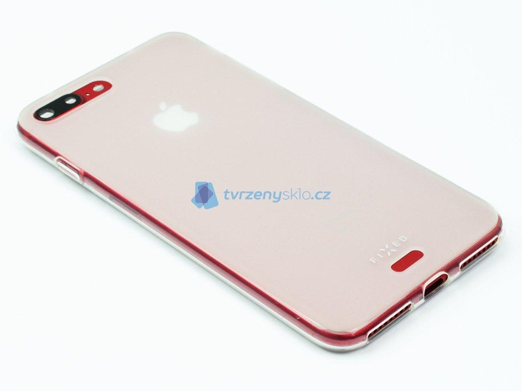 Gelové pouzdro FIXED pro Apple iPhone 7 Plus, 8 Plus Matné