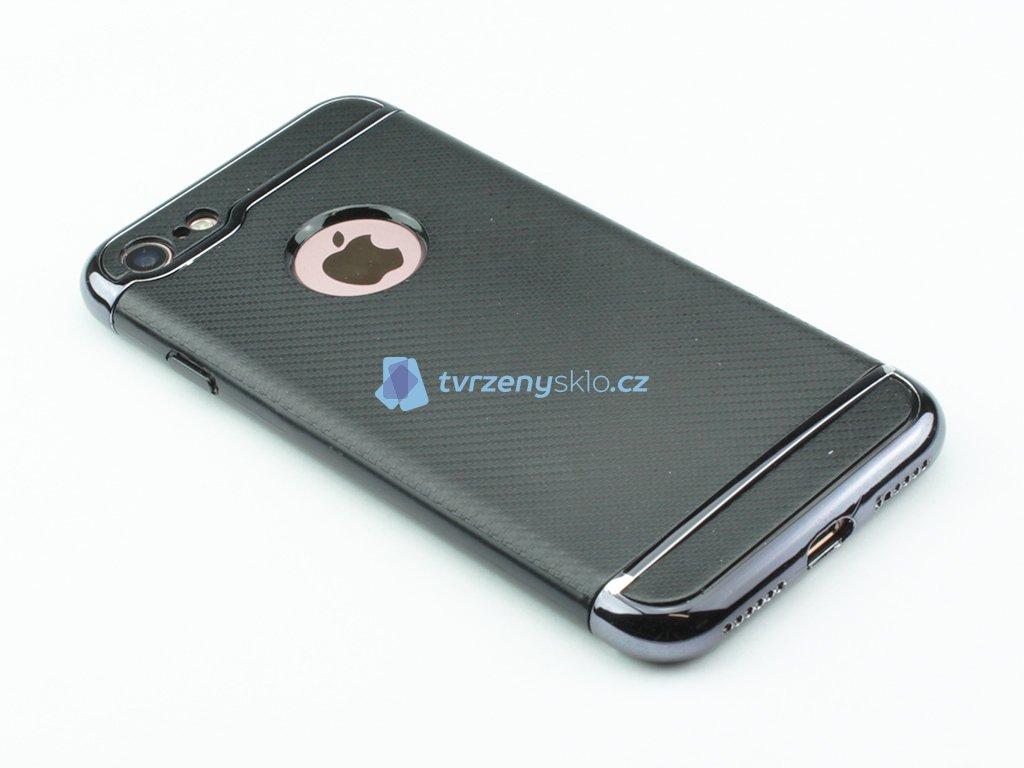 Karbonové pouzdro na iPhone 7 a iPhone 8 Černé