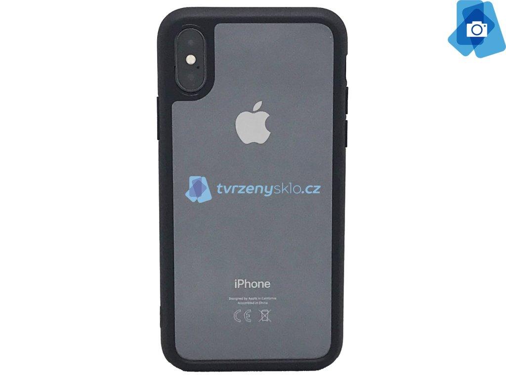 Kryt s rámečkem iPhone X Černý
