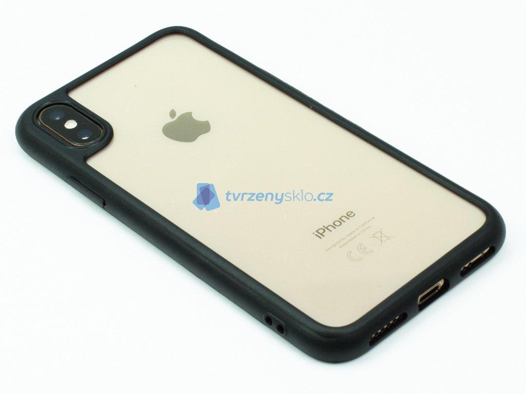 Kryt s rámečkem iPhone X,XS Černý