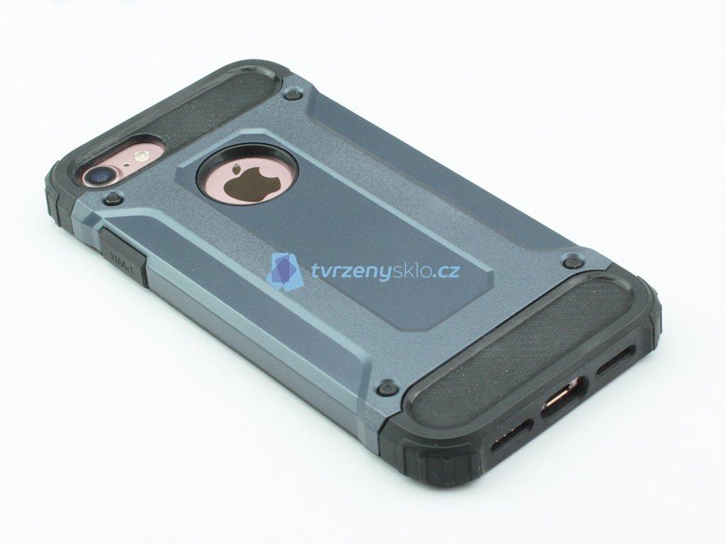 Vysoce odolný kryt pro iPhone 7, iPhone 8 Modrý