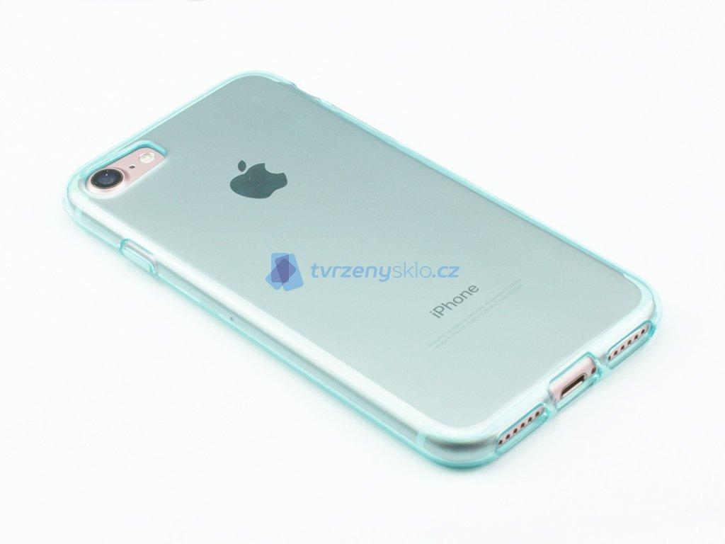 Pevný, Gumový ochranný kryt na iPhone 7, iPhone 8 Modrý