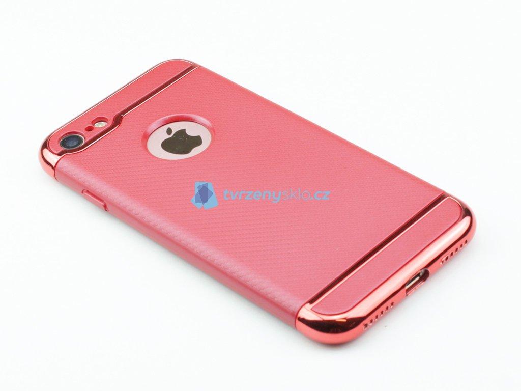 Karbonové pouzdro na iPhone 7 a iPhone 8 Červené