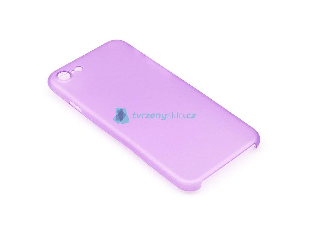 Ultratenký, Plastový, Pevný kryt na iPhone 7,iPhone 8 Fialový