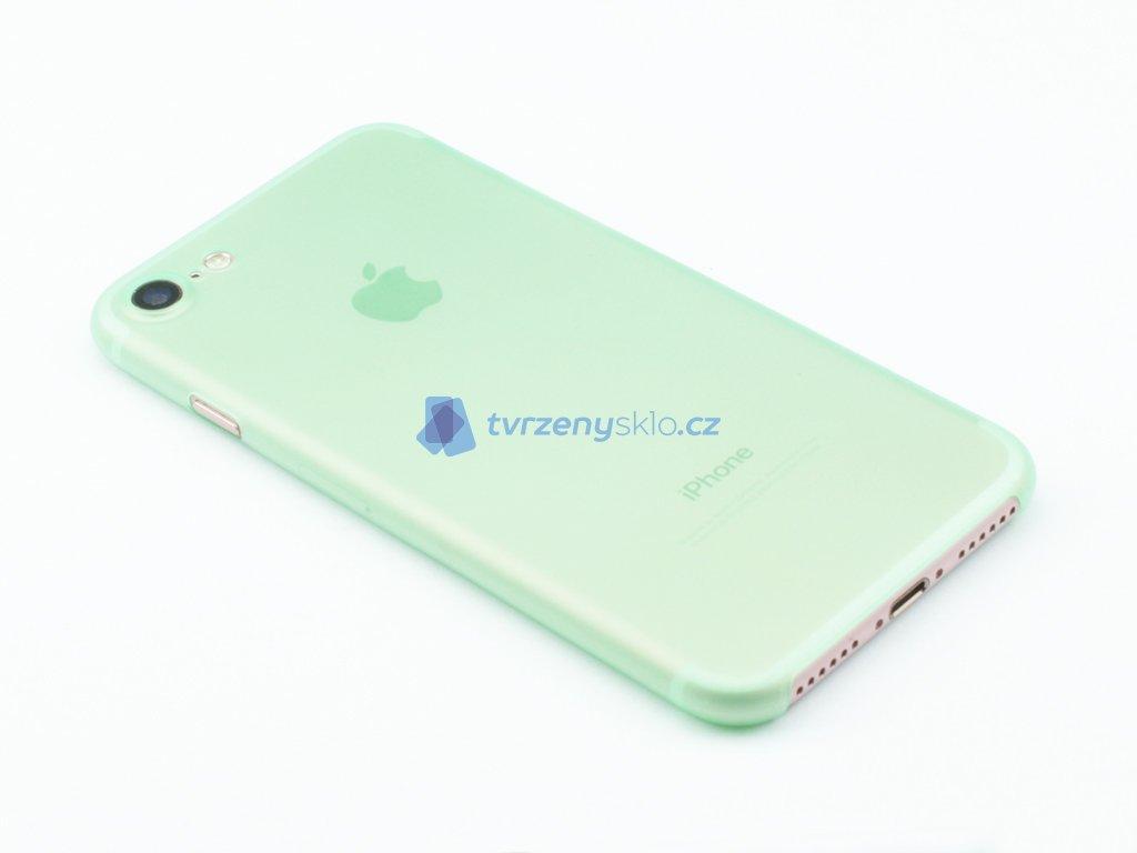 Ultratenký, Plastový, Pevný kryt na iPhone 7, iPhone 8 Zelený