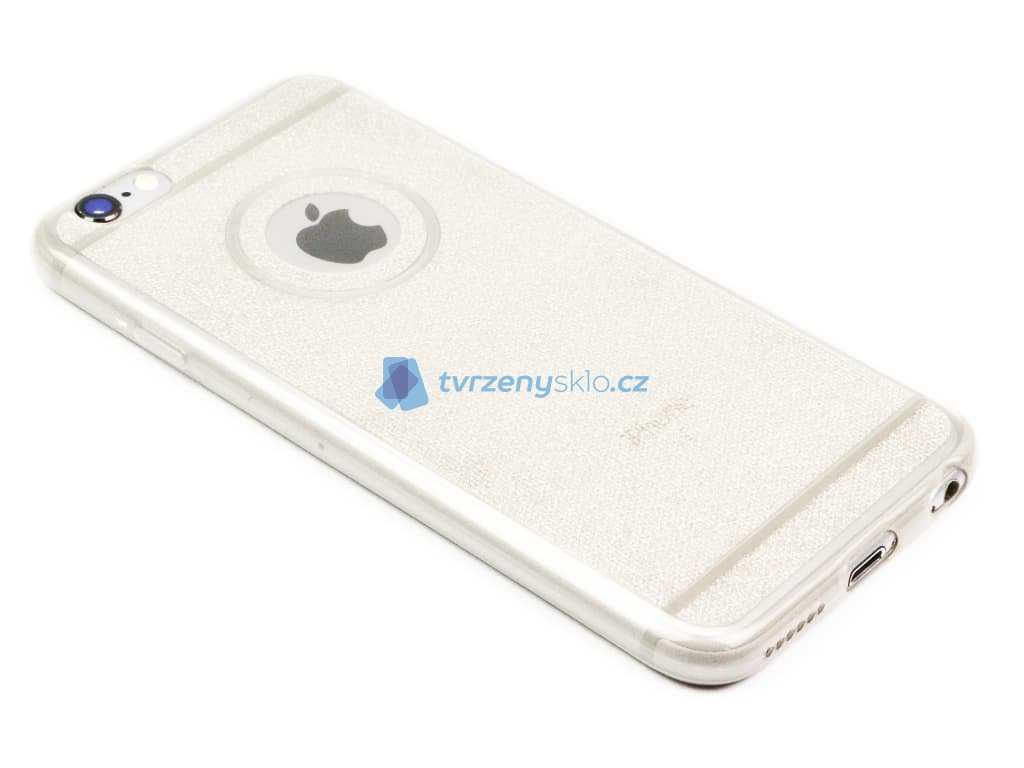 Třpytkový obal iPhone 6,6s Šedý 1