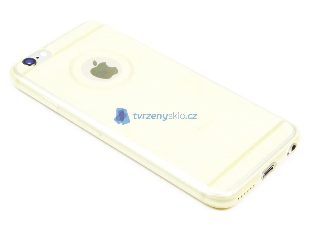 Třpytkový obal iPhone 6,6s Žlutý 1